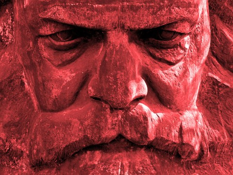 Karl Marx's Posthumous War On America